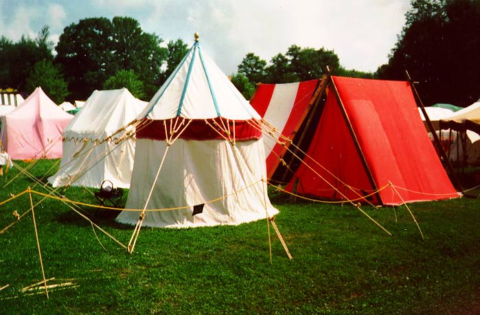 & Our First King Rene Tent
