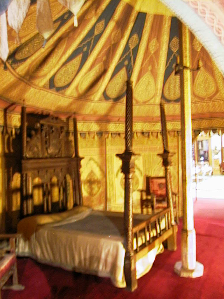 Interior view (furniture doesnu0027t go with the tent) & The Carlos V Tent
