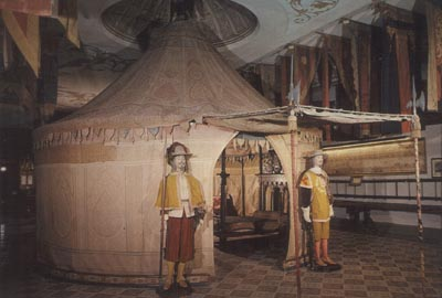 A photo of a surviving Spanish royal tent from 1517 ... & Surviving Medieval Pictures of Tents and Pavilions